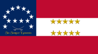Virginia State Flag Proposal No 15 Designed By Stephen Richard Barlow 24 SEP 2014 at 0929hrs cst