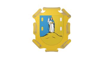 De facto flag of San Luis Potosí