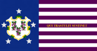Connecticute State Flag Proposal No 6 Designed By Stephen Richard Barlow 16 AuG 2014 at 1015hrs cst