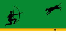Flag of Amazonas Departament