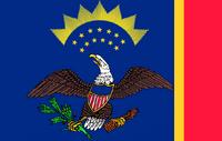 North Dakota State Flag Proposal No 4 Designed By Stephen Richard Barlow 18 AuG 2014 at 0850hrs cst