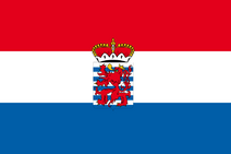 Official Flag of the province of Luxembourg