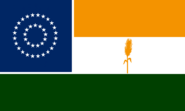Nebraska State Flag Proposal No 3 Designed By Stephen Richard Barlow 20 OCT 2014 at 1750hrs cst