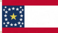 Alabama State Flag Alabama Constellation Proposal Designed By Stephen Richard Barlow 13 FEB 2015 at 1231hrs HRS CST Based on a Design of Nicola Marschall of Montgomery Alabama in 1861.png