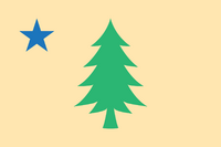 Maine New Flag