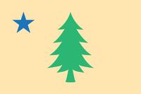 Maine New Flag
