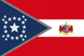 Alabama State Flag Proposal New Stars and Bars Constellation (B) Designed By Stephen Richard Barlow 10 NOV 2014 at 1141 hrs cst.png