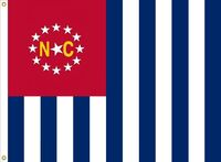 North Carolina flag proposal No. 18b by Stephen Richard Barlow 10 AUG 2015 at 1455 HRS CST.