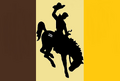Wyoming State Flag Proposal No 5 Designed By Stephen Richard Barlow 08 OCT 2014 at 1028hrs cst.png