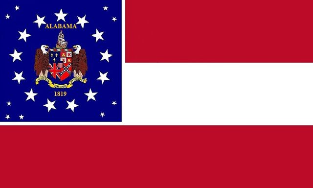File:Alabama State Flag Proposal Stars and Bars 1819 Designed By Stephen Richard Barlow 07182014.jpg