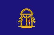 Georgia State Flag Non-Official Prior to 1879