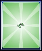 Green sneakers boys