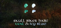 Skullbiker bundle4 part2 hair