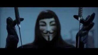 V for Vendetta The Fight In The Building