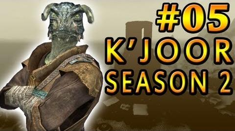 "05 Let's Play Skyrim with K'Joor - Season 2 - ""The Escape"""