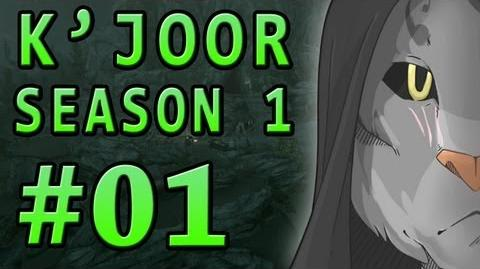 "01 Let's Play Skyrim with K'Joor (Season 1) - ""A Cat in Riverwood"""