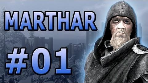 "01 Let's Play Skyrim with Marthar - ""The Wizard from Daggerfall!"""