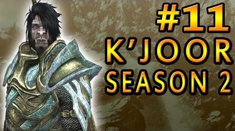 "11 Let's Play Skyrim with K'Joor - Season 2 - ""The Orc"""