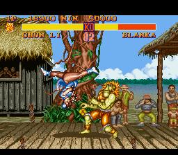 Street Fighter II - The World Warrior (SNES)