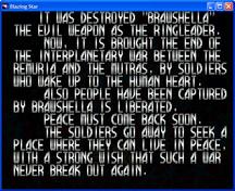 Blazingstar ending