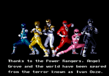 Mighty Morphin Power Rangers - The Movie END