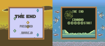 Tetris Blast End Screens