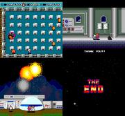 Bomberman tg16 ending