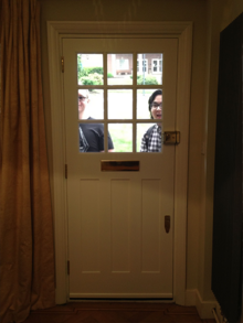 Rob and jimmy want to come inside
