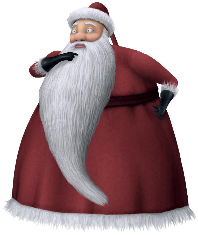 Santa Claus The Nightmare Before Christmas Video Game Characters Wiki Fandom