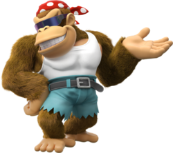 Funky Kong Artwork - Donkey Kong Country Tropical Freeze