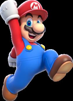 Mario SM3D World Artwork