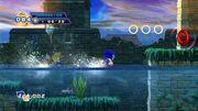 Sonic 4 Screen