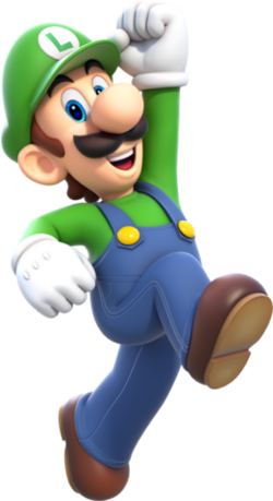 Luigi SM3D World Artwork