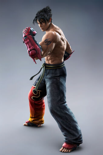 Jin Kazama Video Game Characters Database Wiki Fandom