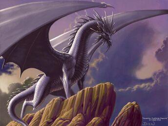 Platinum-dragon