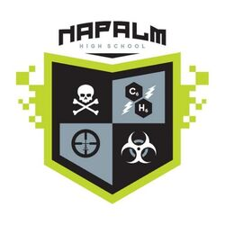 Napalm Energy Drink High School