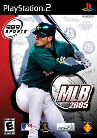 Mlb2005 ps2box