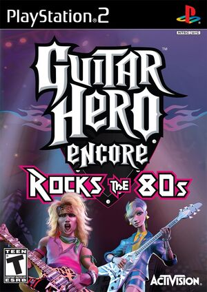 Guitar Hero Encore Rocks the 80s