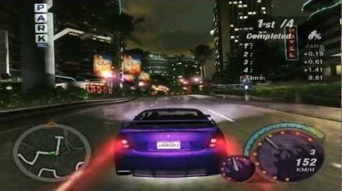 Video - Need For Speed Underground 2 Gameplay (Xzibit — LAX