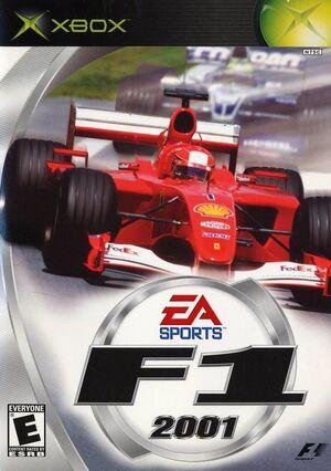 F1 2001 Xbox Cover