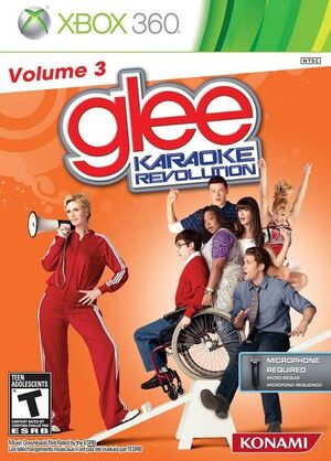 Karaoke Revolution Glee Vol. 3