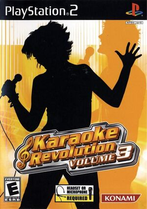 Karaoke Revolution Vol. 3