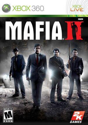 Mafia 2 game case