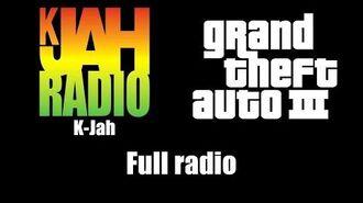 GTA III (GTA 3) - K-Jah Full radio