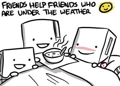 Comic friends