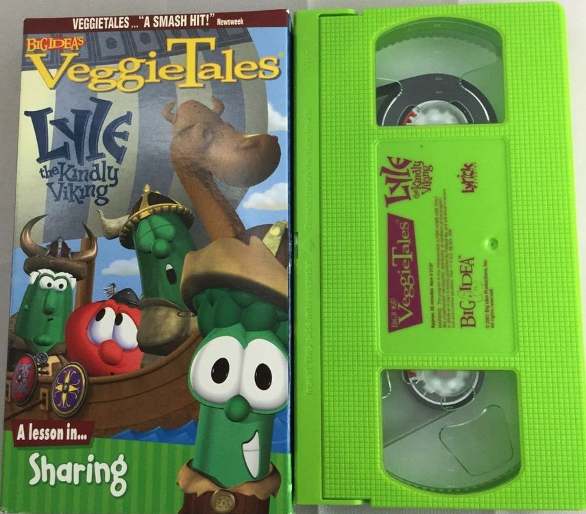 VeggieTales: Lyle, The Kindly Viking VHS 2001 (Lyrick