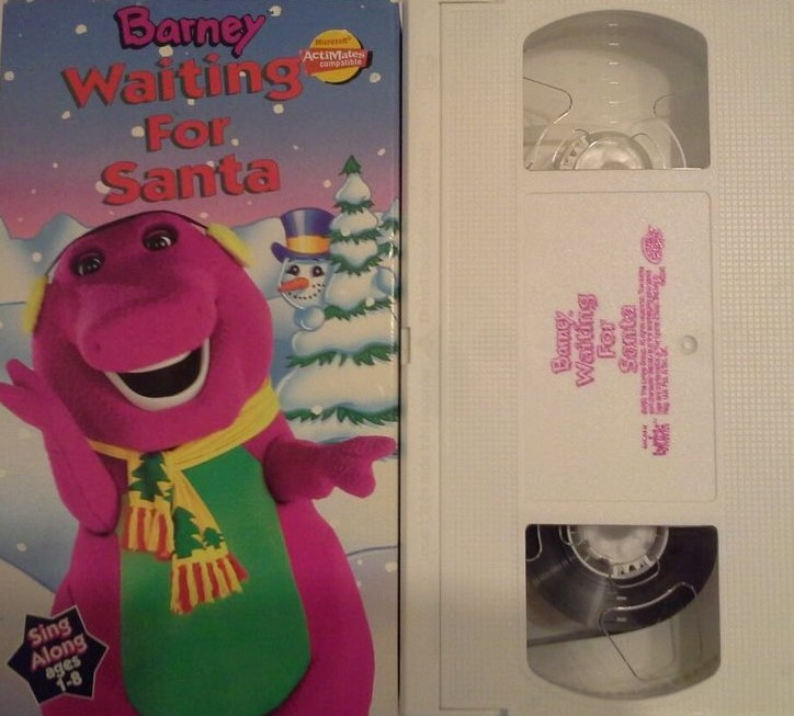 Barney: Waiting For Santa VHS 1997