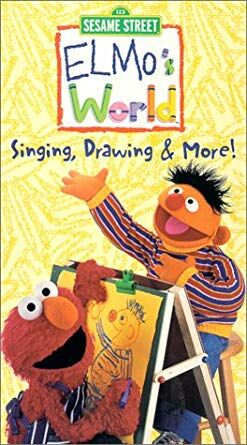 Elmo S World Singing Drawing More Vhs 2000 Vhs And