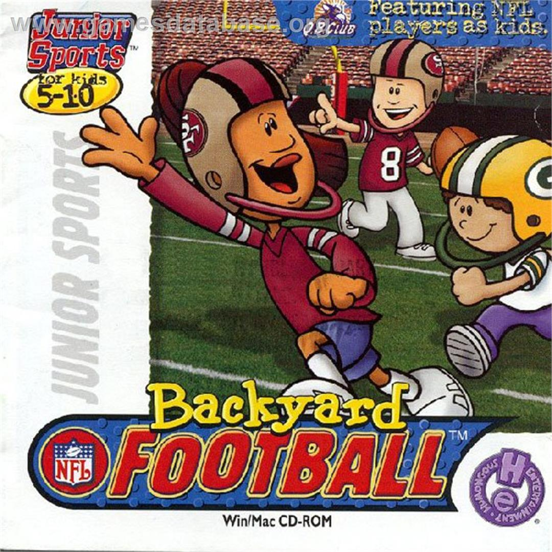 Demos to Backyard Football 1999 PC Game | VHS Openings Wiki