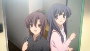 Sugisaka and Rie-Small Palms